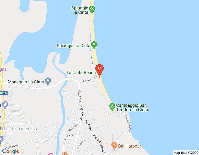 Cartina Di San Teodoro Sardegna.Villa A Schiera Angolare Vista Mare 5m Dalla Spiaggia Della Cinta La Gemma Di San Teodoro