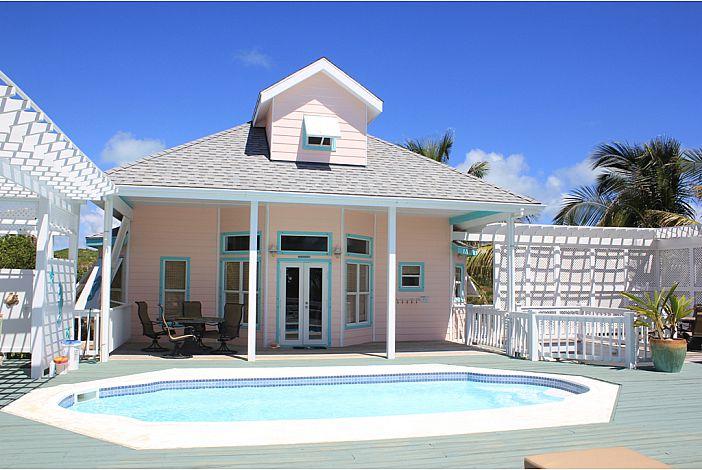 Custom built island life home- Abaco Surfside.