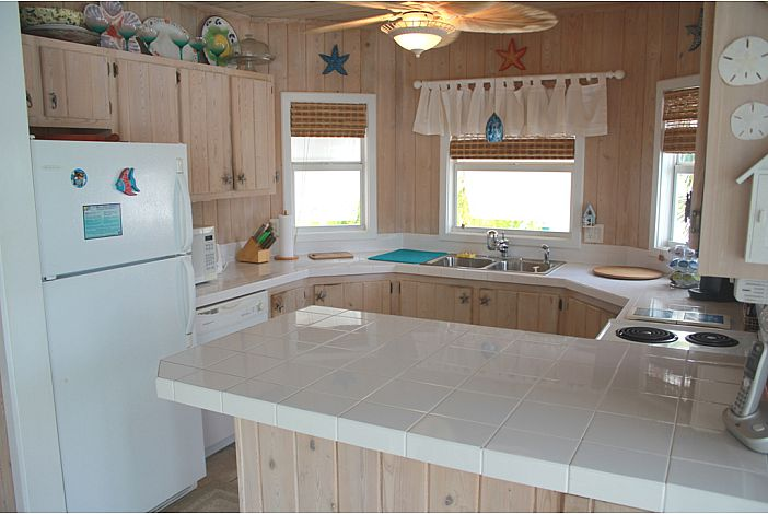 Island style kitchen with lots of amenities.