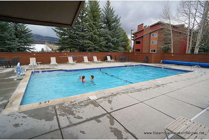 outdoor heated pool (open year round)