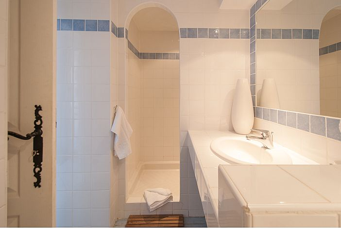 salle de bain vue douche terra