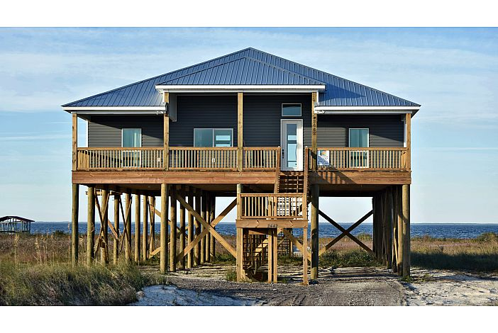 New Bayfront Home on Dauphin Island