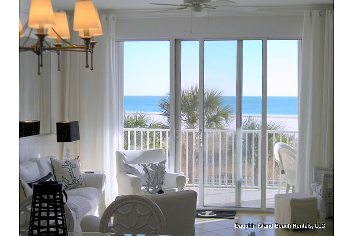 Gulf beach Condo with spectacular view!