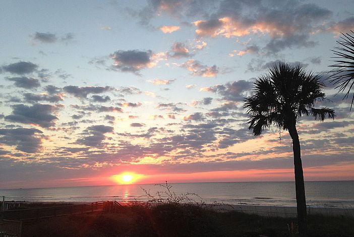Beautiful Folly Beach Sunset Views