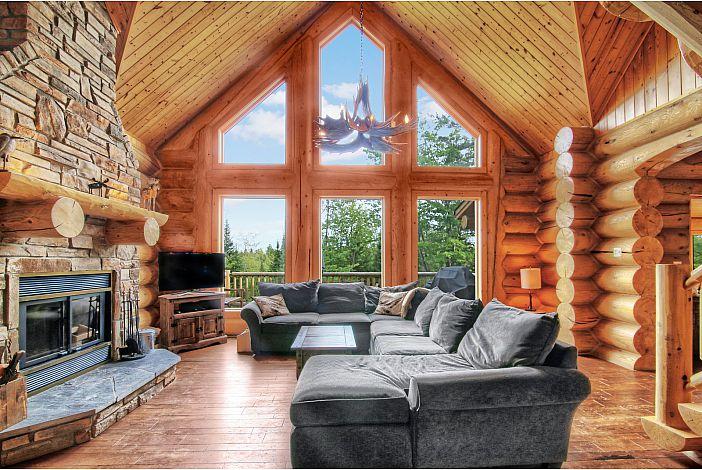 blue moose avec spa et sauna priv. Black Bedroom Furniture Sets. Home Design Ideas