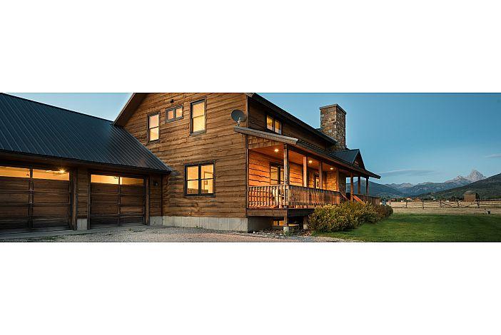 Wooden exterior