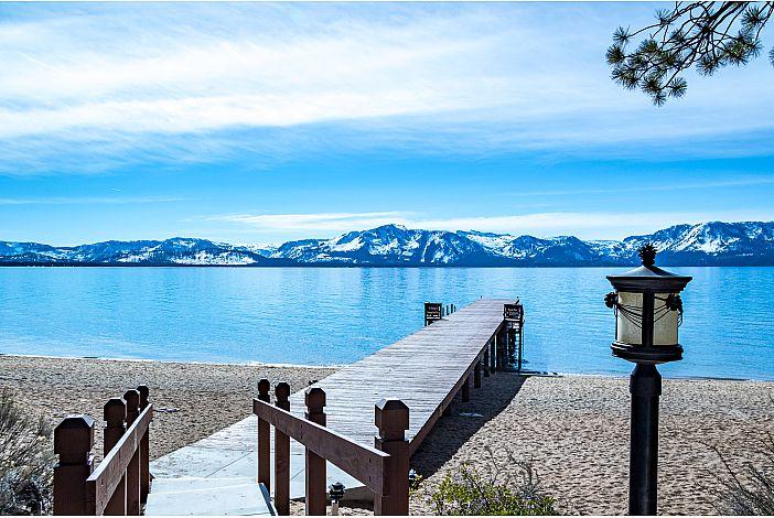 Dock and walkway w/beautiful views of Lake Tahoe
