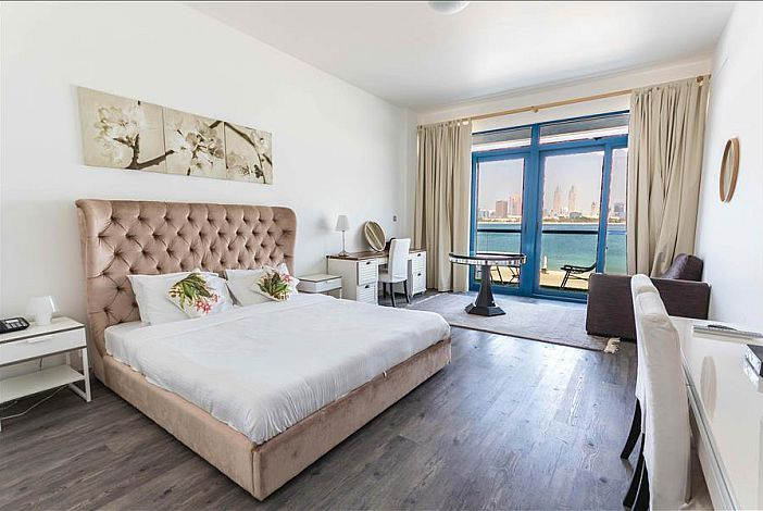 Master Bedroom With Terrace And Full Sea View