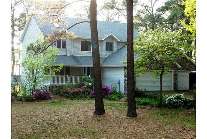 Beautiful Chesapeake Bayfront Home with private beach. Offering Community Pool, Tennis, and Lake Allure, a freshwater lake.