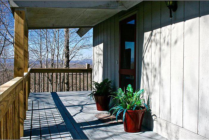 Wraparound deck with year round views