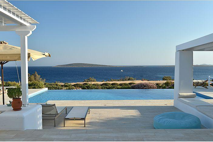Greekvillas.com The Seashell Villa Paros