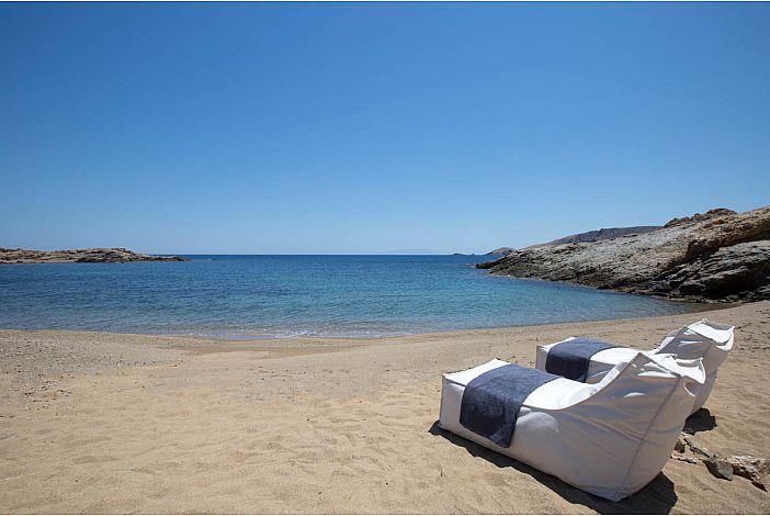 Villa Stella Mykonos on beachfront