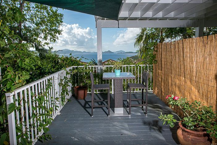 A Private Deck Awaits You at the Studio