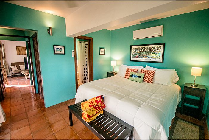 Your St. John Vacation Home - King bedroom w/ AC