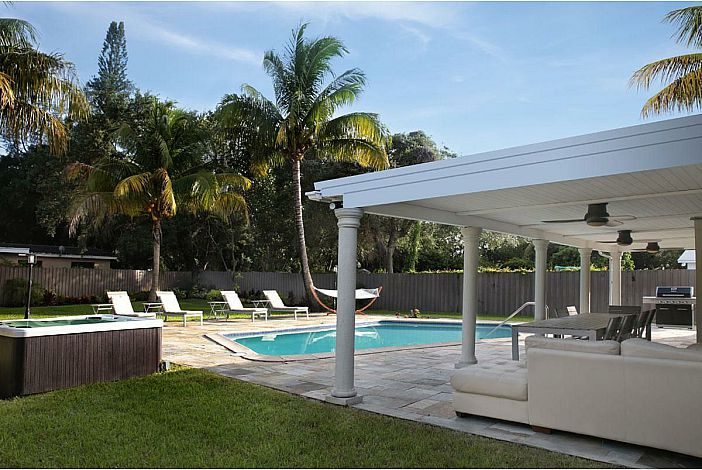 Large Private Yard, Pool, and Patio