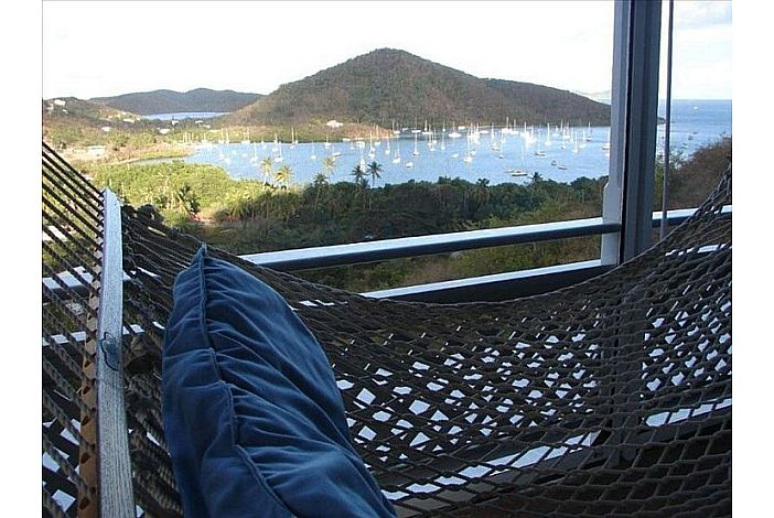 Hammock View from lower level