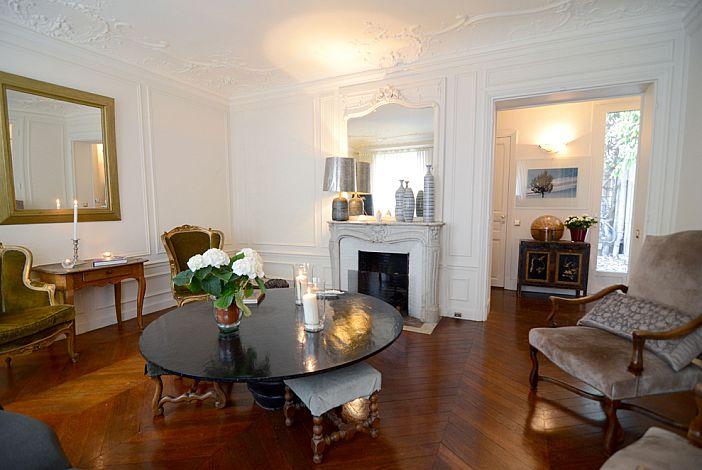 Living room overlooking to foyer