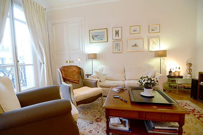 Comfortable sofa and armchairs