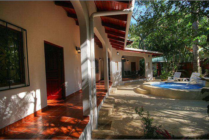 Guest bedroom terrace