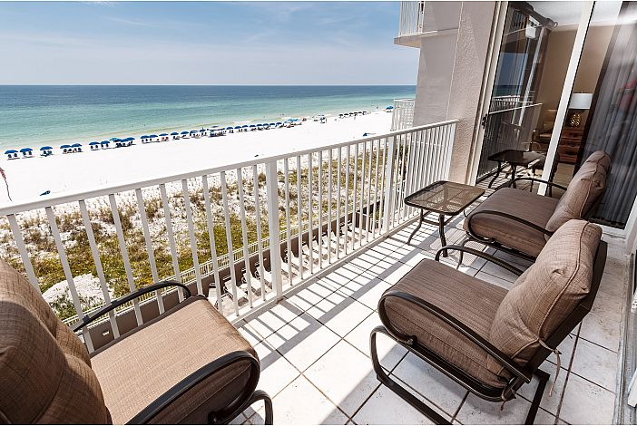 Enjoy the gorgeous view from your balcony!