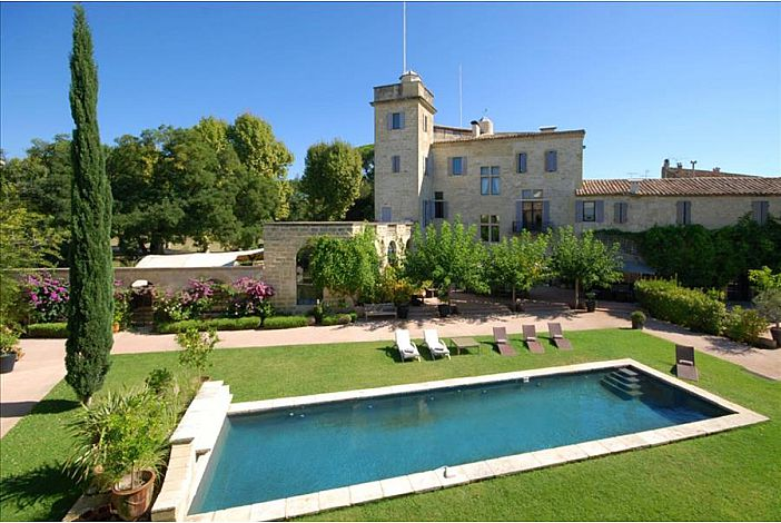 Beautiful Estate and Richly Restored Château