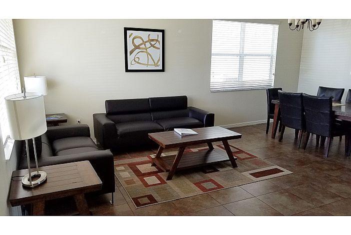 tastefully furnished home