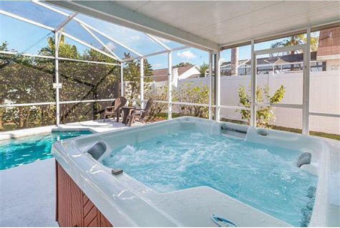 Hot Tub, Private Pool, Fenced in Backyard