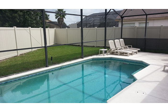 Private Pool, Fenced in Backyard