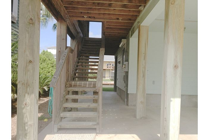Staircase to Upstairs from Street Side