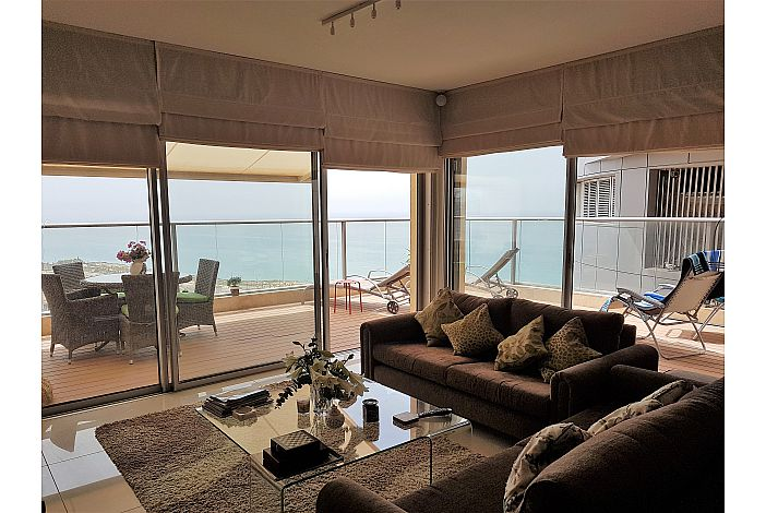 Fabulous balcony with amazing sea views