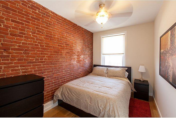 Bedroom - Boston Rental, Back Bay