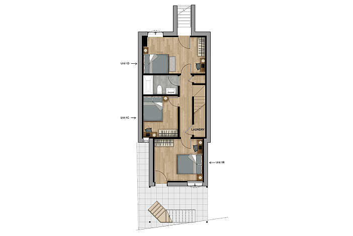 Unit 1D, Private Bedroom, Coliving