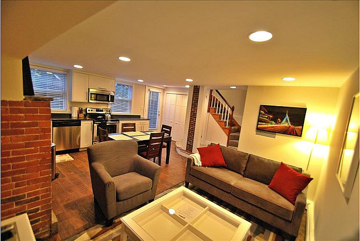 Charlestown Boston Furnished Apartment Rental 12 Mount Vernon ...