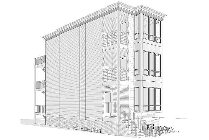 Building Rendering | 139 Marcella | Coliving