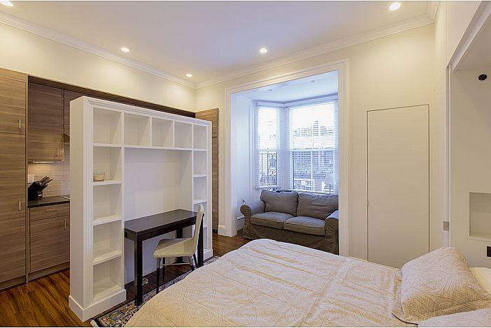 Beacon Hill, Boston - Murphy bed folded down