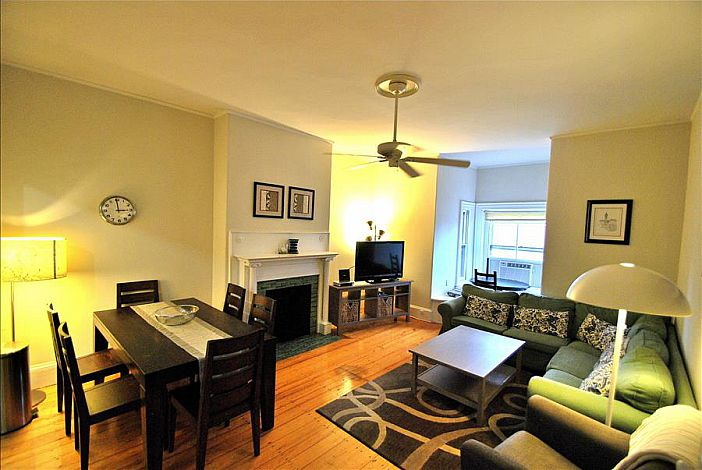 Living Room   Marlborough St. Boston Rental Amazing Pictures