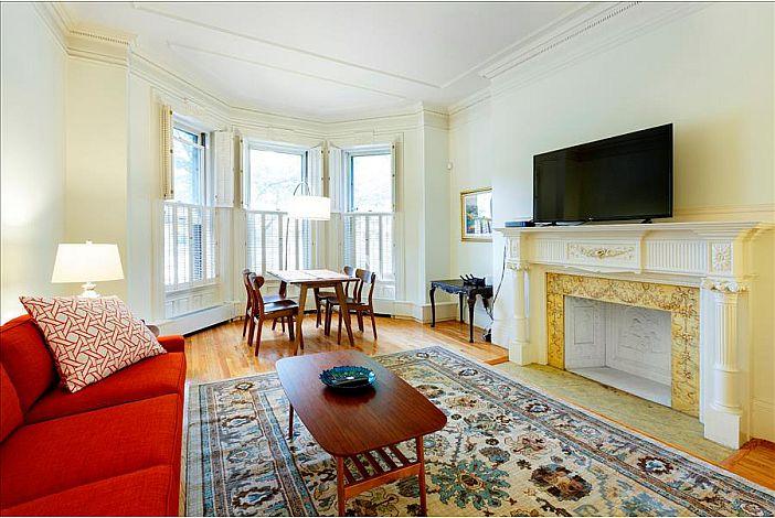 Living Room - Back Bay Boston