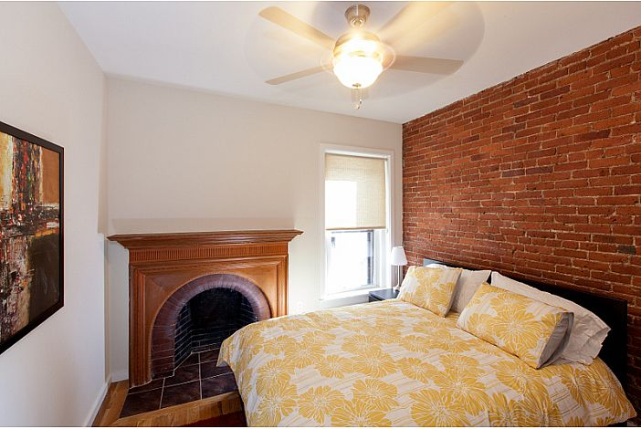 Bedroom - Back Bay Rental, Boston