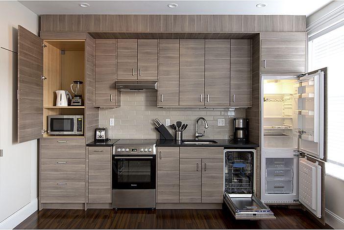 Beacon Hill, Boston - Studio Kitchen built-ins