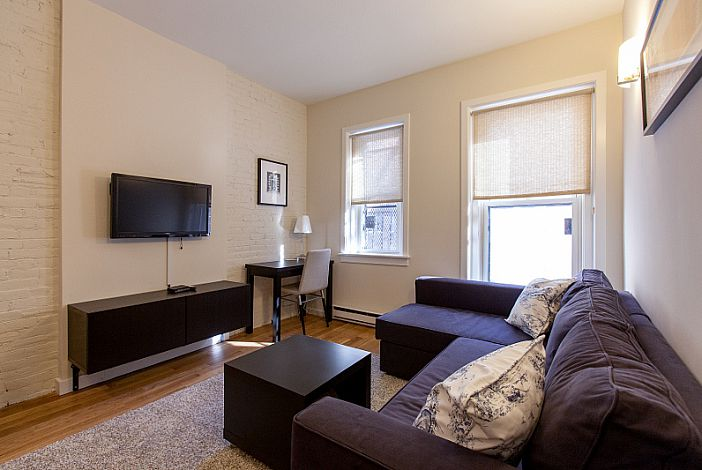 Wonderful Living Room   Boston Rental, Back Bay Good Looking