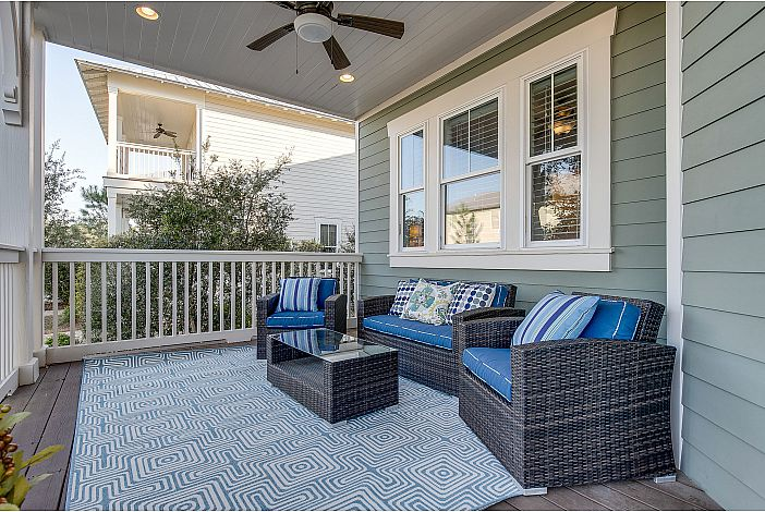 Relax on the front porch.