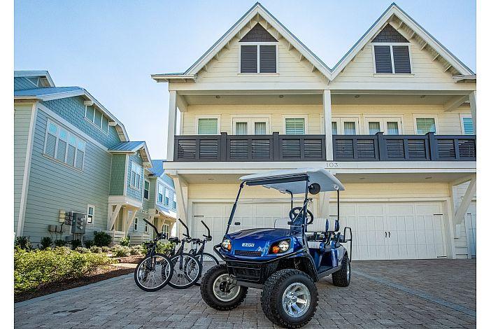 Street Legal Golf Cart! Seats Six (6)!