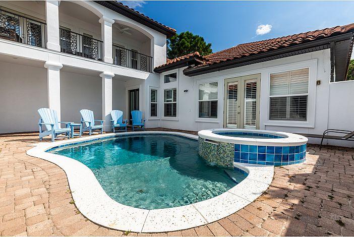 Private Pool at CAVU Caye!