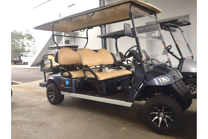 One Six Seater Golf Cart