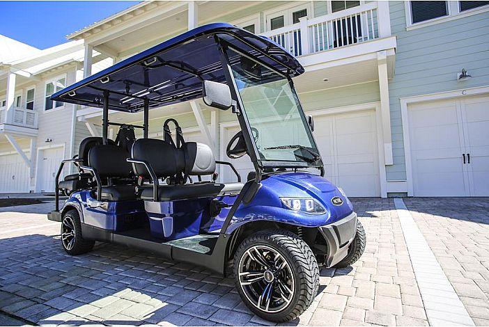 6-Seater Golf Cart!