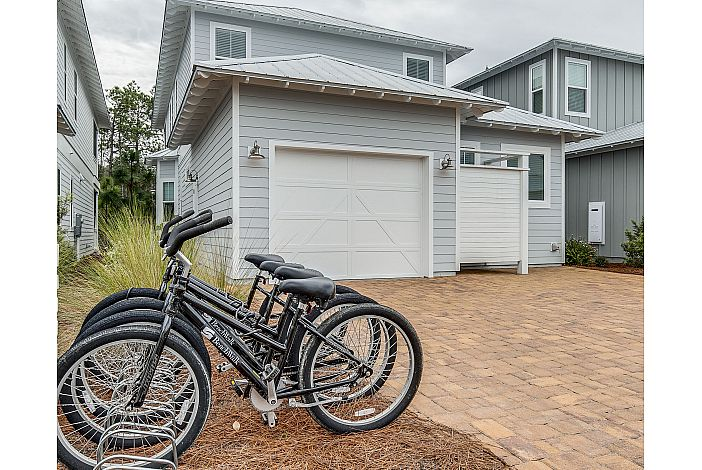 4 Bikes Included!