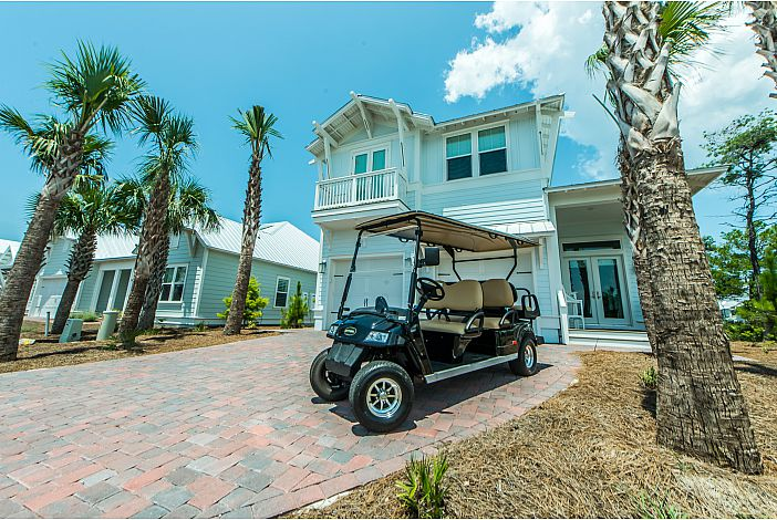 Six Seater Golf Cart Available!