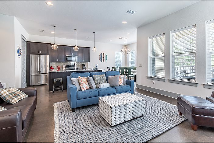 Open Concept Floorplan Keeps the Family Together