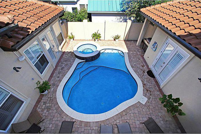 Private Pool Area at CAVU Caye!