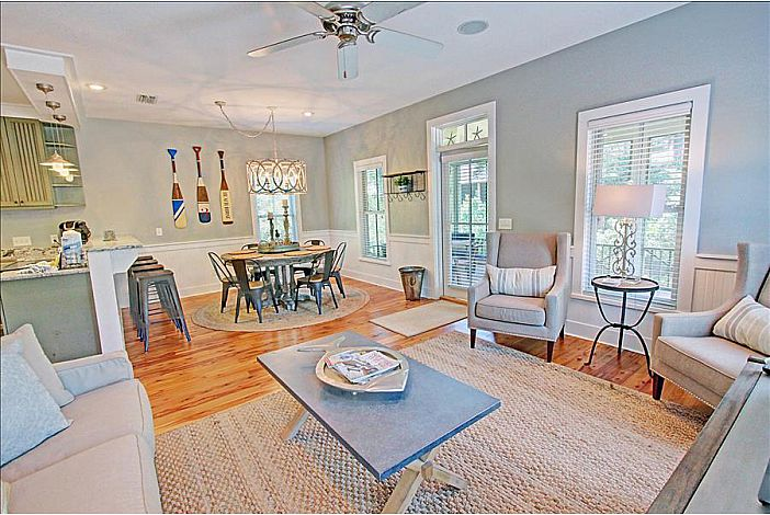 Spaciously Seated Living Room